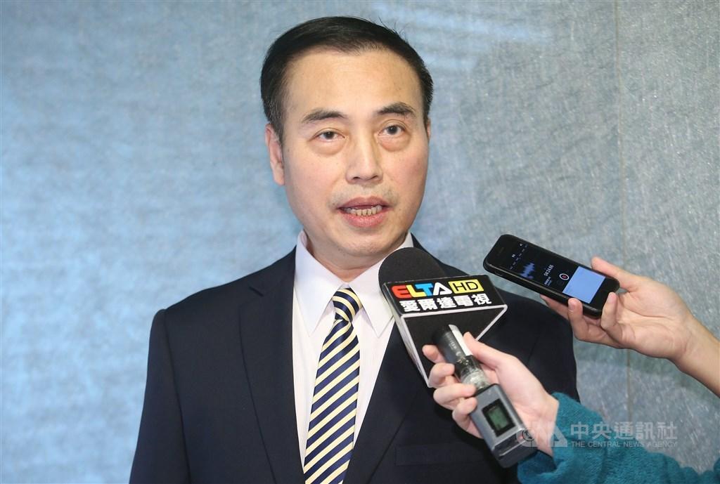 圖為滑冰協會秘書長吳奕德。(中央社檔案照片)