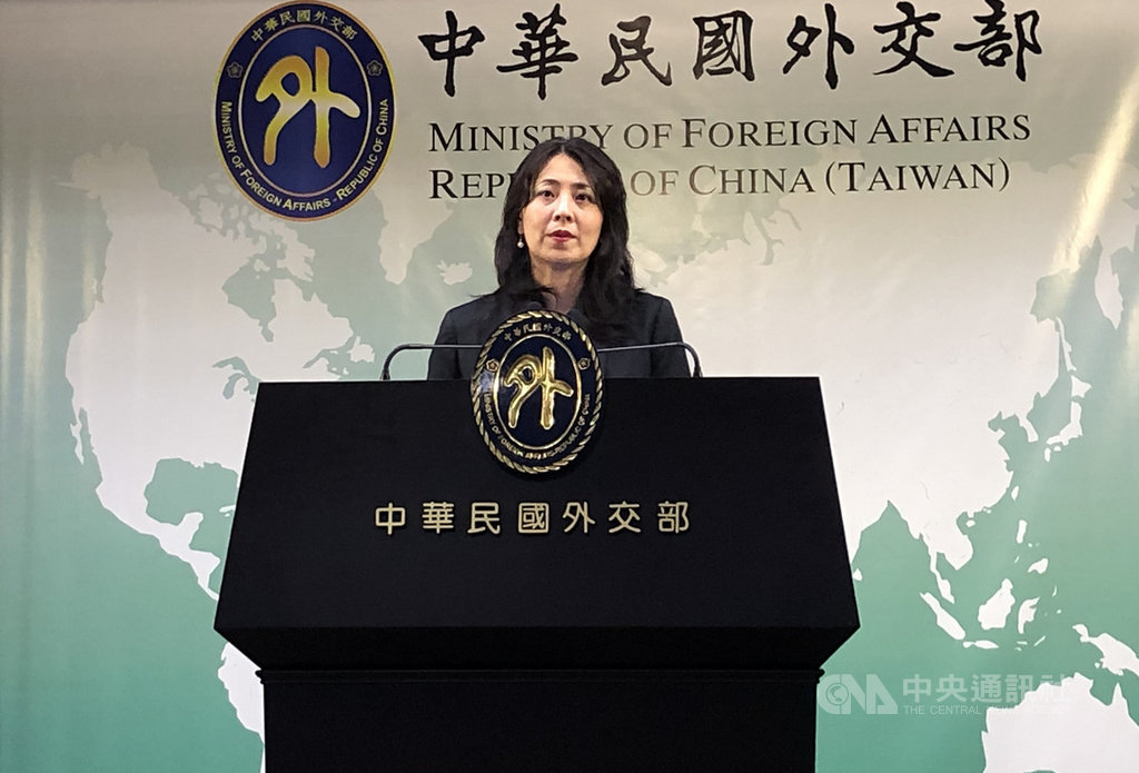 傳出中國再向索羅門群島喊話,外交部副發言人歐江安30日表示,台索邦誼基本面穩固,各項合作計畫推動順利。中央社記者侯姿瑩攝 108年7月30日
