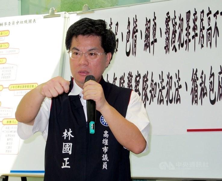 知情人士3日表示,韓國瑜競選辦公室將由前立委林國正(圖)擔任執行長。(中央社檔案照片)