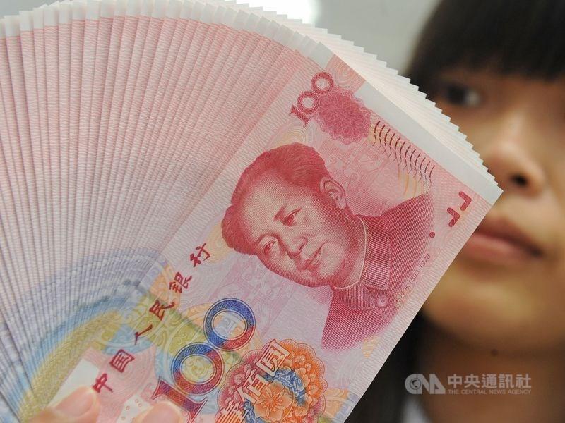 美中貿易戰升溫,加上香港問題延燒,人民幣5日跌破7元大關。(中央社檔案照片)