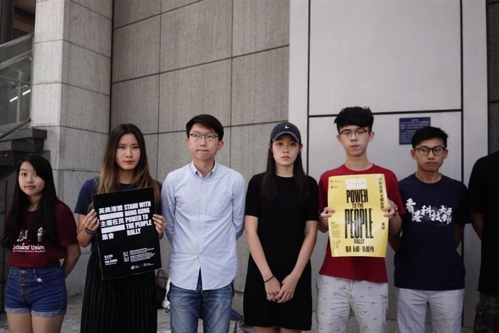 香港大專學界國際事務代表團及連登團隊「我要攬炒」,16日晚間8點將在中環遮打花園舉辦「英美港盟 主權在民」集會,爭取國際支持「反送中」行動。(立場新聞提供)