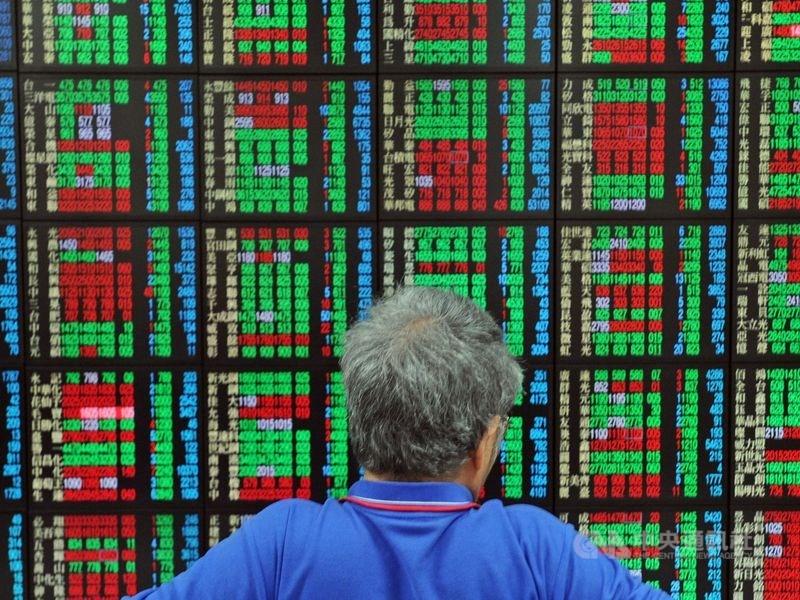 美股17日收紅,台股上週週線下跌73.6點。(中央社檔案照片)