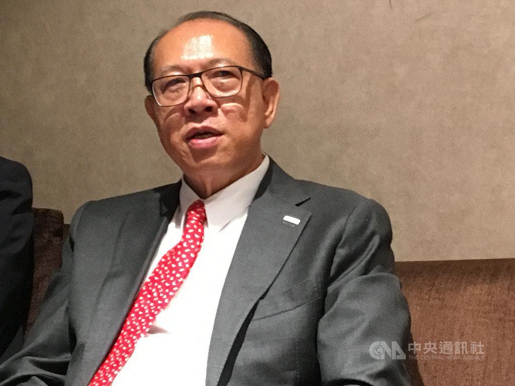 上銀集團總裁卓永財表示,感受到台灣廠商回流的跡象,「找地的廠商比以前多」,台商回流效應逐漸發酵。中央社記者鍾榮峰攝  108年8月19日