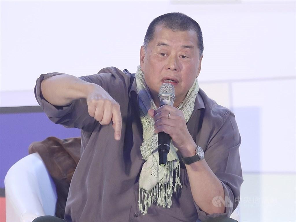中國官媒19日將壹傳媒創辦人黎智英,定調為「禍港亂港總策劃、禍港四人幫之首」,將被「釘在歷史恥辱柱上」。(中央社檔案照片)