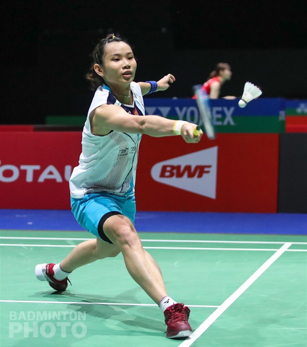 台灣羽球一姐戴資穎(圖)21日在2019世界羽球錦標賽女單次輪,以直落二擊敗印尼小將,順利晉級16強。(Badmintonphoto提供)中央社記者龍柏安傳真 108年8月21日
