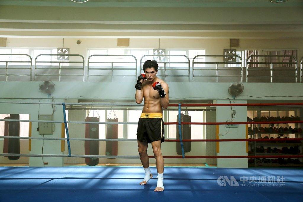 男星邱澤為拍攝新片「第九分局」,開拍前接受了近2個月的武術訓練,在片中也展現好身材。(甲上娛樂提供)中央社記者洪健倫傳真 108年8月22日