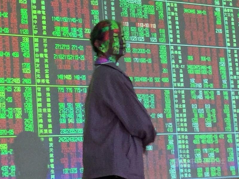台股23日開盤跌3.63點,加權股價指數為10526.15點。(中央社檔案照片)
