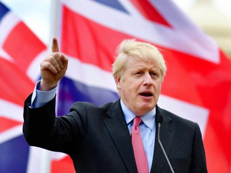 英國首相強生23日表示,英國脫歐後,他會將英國打造成一個國際化、外向型且自信的國家。(圖取自facebook.com/borisjohnson)