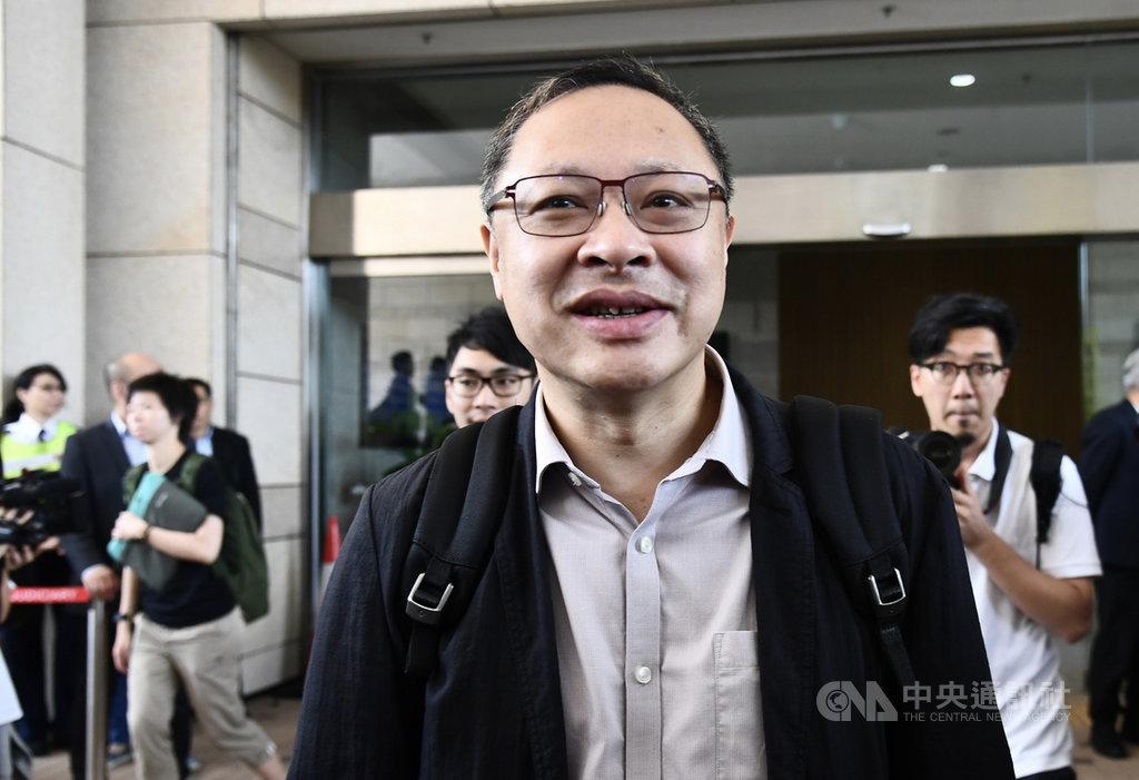 「占中運動」發起人之一戴耀廷26日在香港電台節目指出,反送中事件的根源,在於港人期望落實「雙普選」。不論事件最終以任何形式結束,民主運動都不會完結,只是形態和爆發程度不同。(中通社資料照片)中央社  108年8月26日