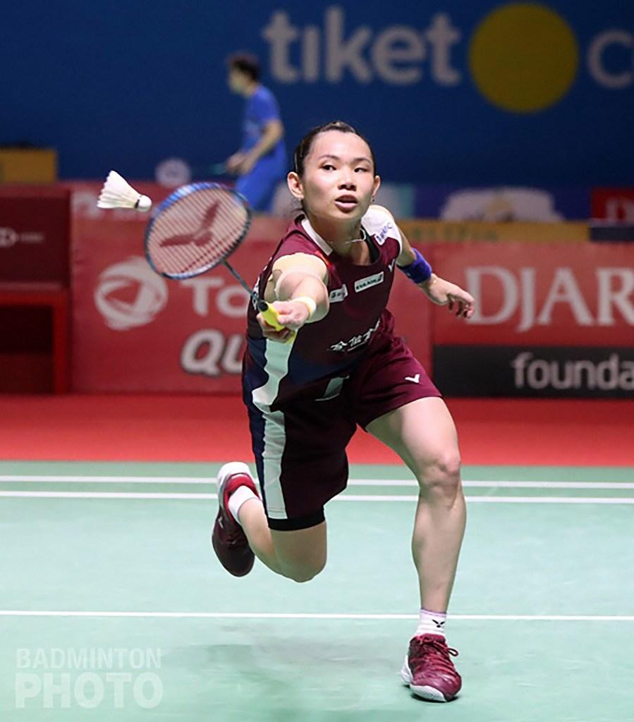 世界羽球聯盟27日公布最新世界排名,台灣羽球一姐戴資穎從上週第2滑落至第3,寫下近3年來新低。(Badmintonphoto提供)中央社