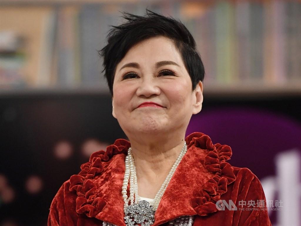第54屆電視金鐘獎28日公布入圍名單,本屆終身成就獎頒發給主持人張小燕。(中央社檔案照片)
