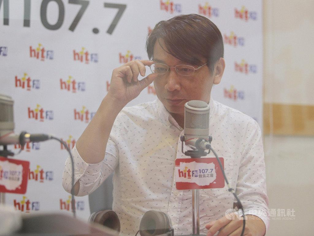 時代力量黨主席徐永明(圖)29日在台北接受廣播專訪,暢談近來黨內的風波。中央社記者徐肇昌攝  108年8月29日