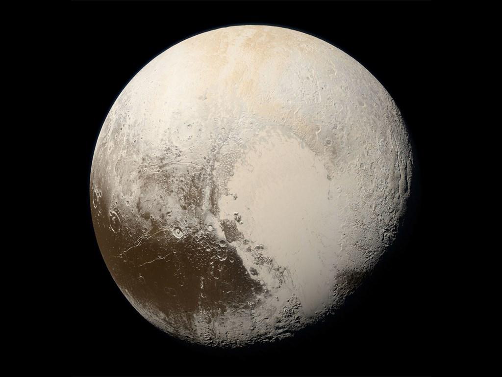 冥王星2006年自九大行星中除名,但NASA署長布萊登斯坦卻說想念它,堅稱冥王星就是一顆行星。(圖取自維基共享資源,版權屬公眾領域)