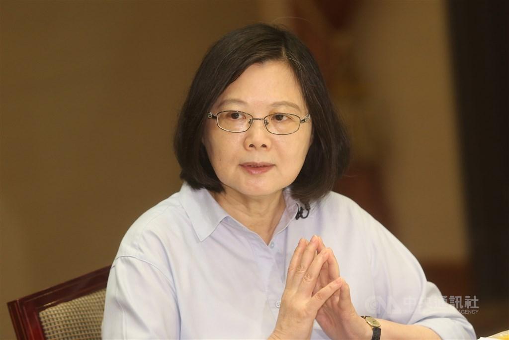 總統蔡英文30日表示,她代表台灣社會向新移民、移工表示關懷、謝意,感謝他們對台灣社會所作貢獻。(中央社檔案照片)