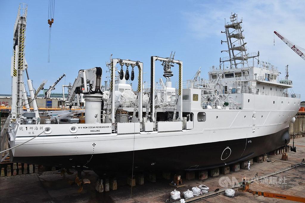 「新海研1號」的定位是全方位發展的海研船,未來承接的研究任務可望在大氣之外,橫跨生物、地質、物理、化學等各學門。(台大海洋研究所提供)中央社記者吳柏緯傳真 108年9月1日