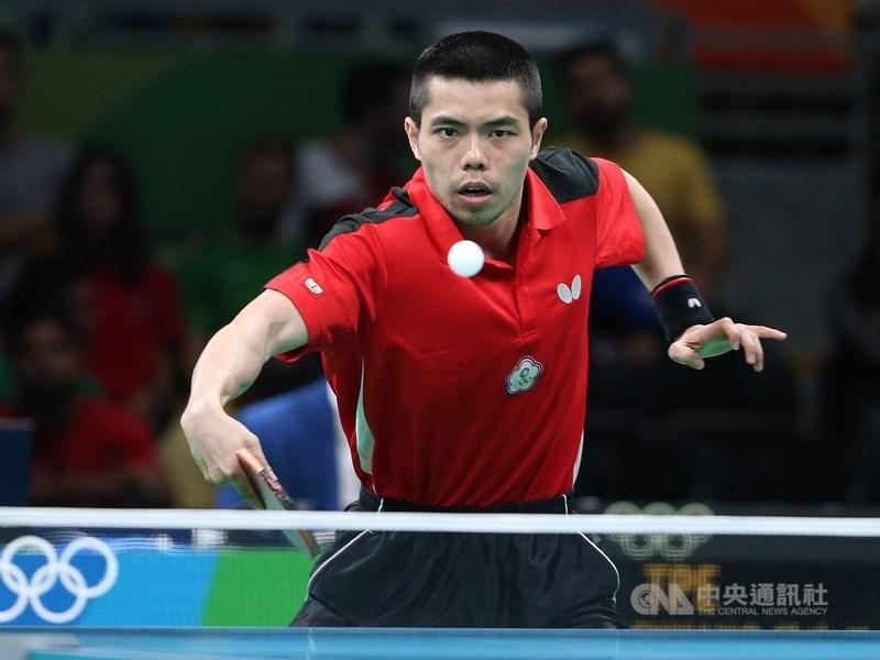 台灣桌球名將莊智淵在臉書拋出震撼彈,表示將不參加巴拉圭公開賽與亞洲桌球錦標賽,並提前放棄明年東京奧運,未來國際重要賽事也不再參加代表隊。(中央社檔案照片)