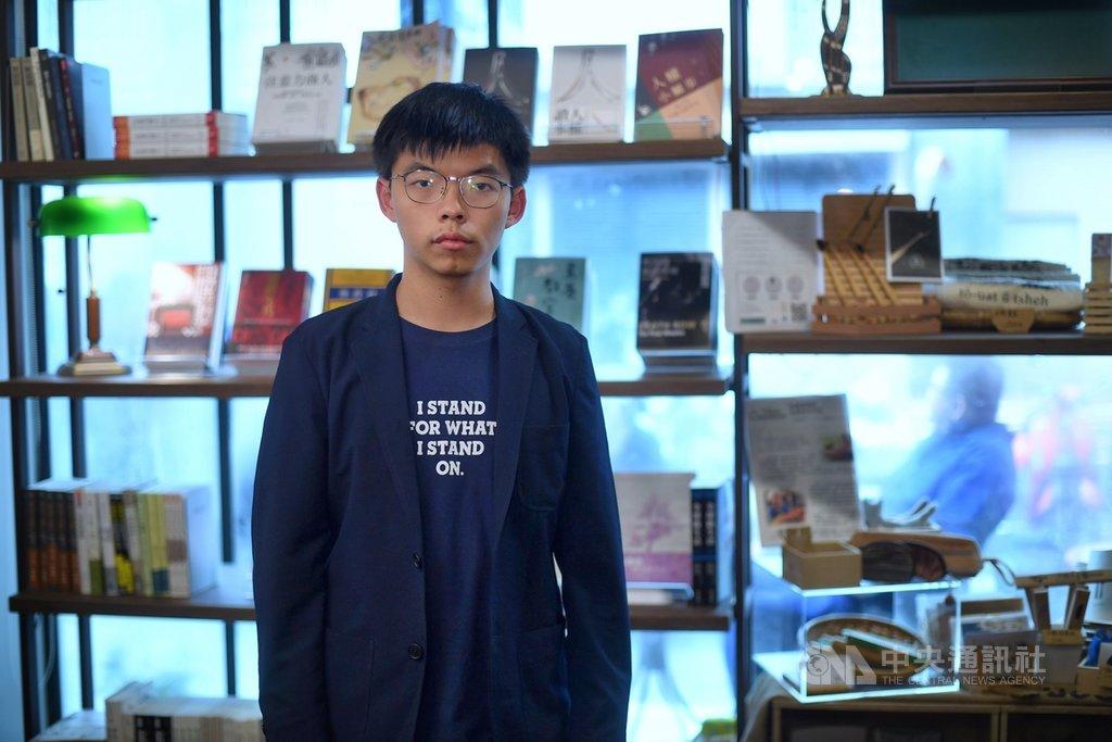 香港眾志秘書長黃之鋒5日在台北接受中央社專訪表示,比起台灣以前美麗島事件,我們(香港)付的代價真的非常小,所以要繼續努力推動香港民主的選舉與制度。中央社記者王飛華攝 108年9月5日