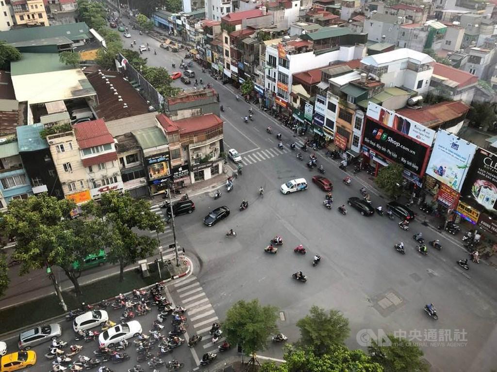 越南的機車人口眾多,因此機車工業也是重點發展項目。中央社記者吳柏緯河內攝 108年9月8日