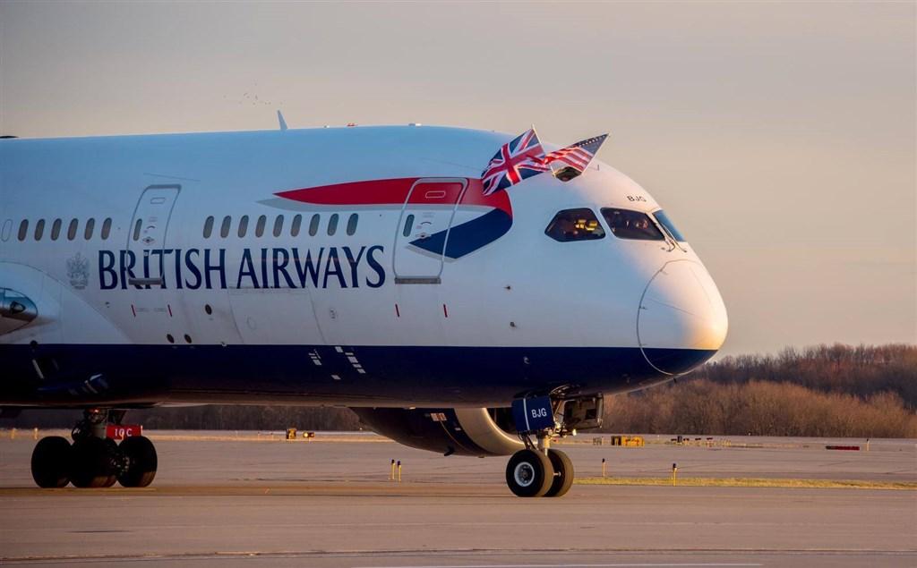 英國航空公司4000名機師9日因薪資爭議展開48小時罷工,導致近1600個航班停飛。(圖取自facebook.com/ britishairways)