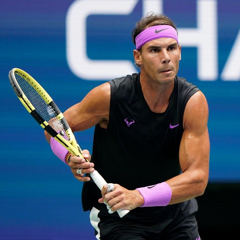 西班牙猛將納達爾(圖)8日在美國網球公開賽男單決賽鏖戰5盤,擒伏俄羅斯新秀梅迪維夫,勇奪生涯第19座大滿貫賽冠軍。(圖取自facebook.com/usopentennis)