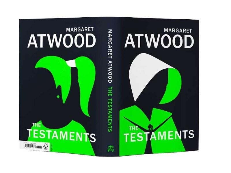 加拿大女作家瑪格麗特.愛特伍10日發表備受期待的1985年出版獲獎小說「使女的故事」續集「證據」(The Testaments,暫譯)。(圖取自水石書店網頁waterstones.com)