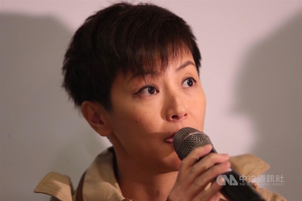 為聲援香港反送中運動,多個民團將於29日舉辦「929台港大遊行:撐港.反極權」行動,12日舉辦記者會,香港歌手何韻詩(圖)出席呼籲民眾支持。中央社記者吳家昇攝 108年9月12日