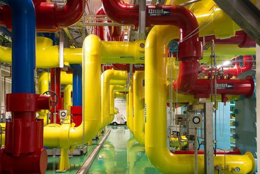 Google11日宣布加碼投資台灣,選擇台南興建資料中心。圖為Google設在彰濱工業區的臺灣資料中心內部。(圖取自Google Data Centers網頁google.com/about/datacenters)