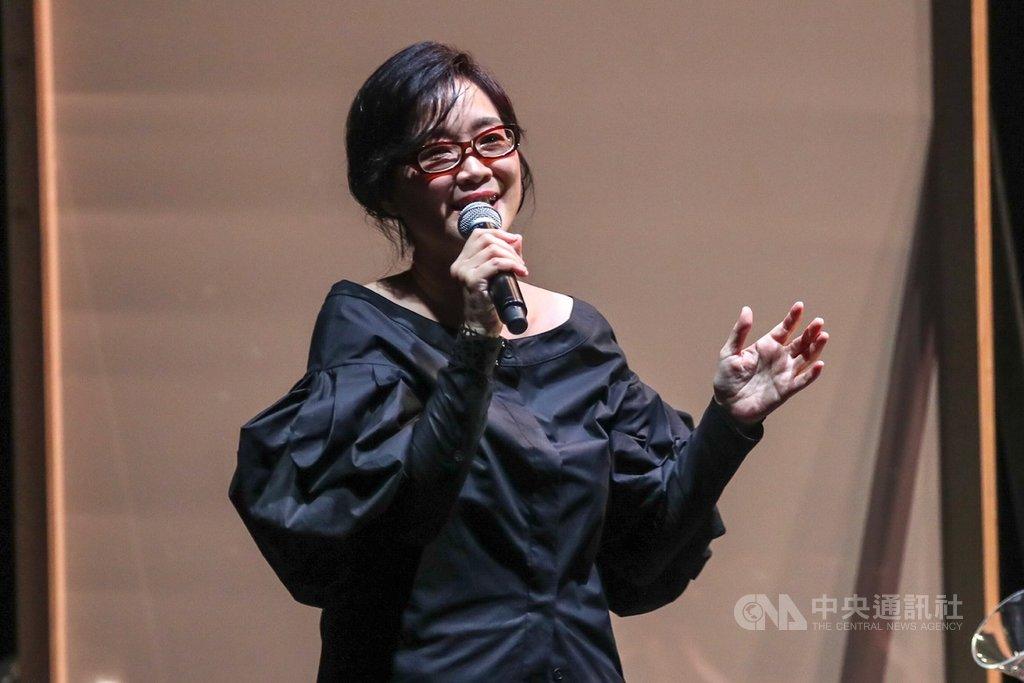 歌手雷光夏(圖)15日在台北國際會議中心,舉辦「昨天晚上我遇見你」演唱會,演唱多首經典歌曲。中央社記者裴禛攝 108年9月15日