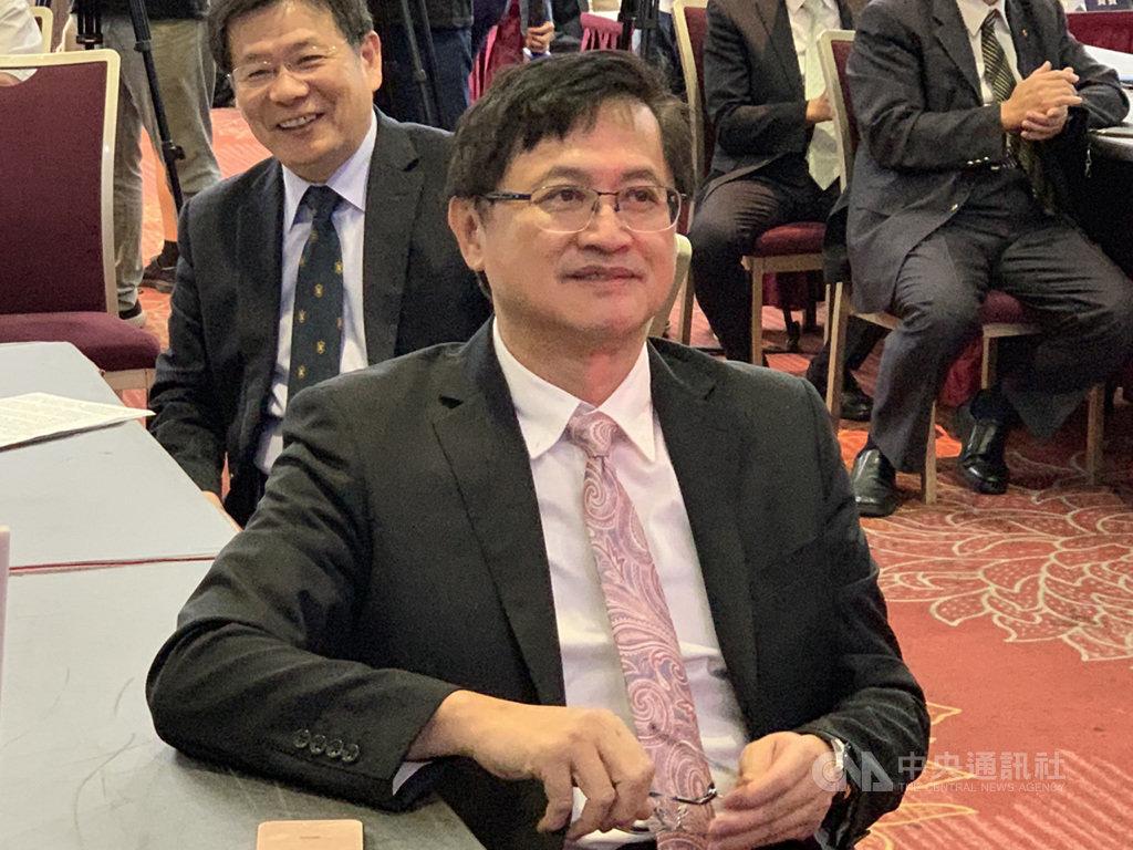台灣5G垂直應用推動聯盟16日舉辦啟動大會,協助推動聯盟成立的台北市電腦公會理事長童子賢(圖)說,5G的成功會是台灣推動數位國家與智慧島嶼的關鍵。中央社記者吳家豪攝  108年9月16日