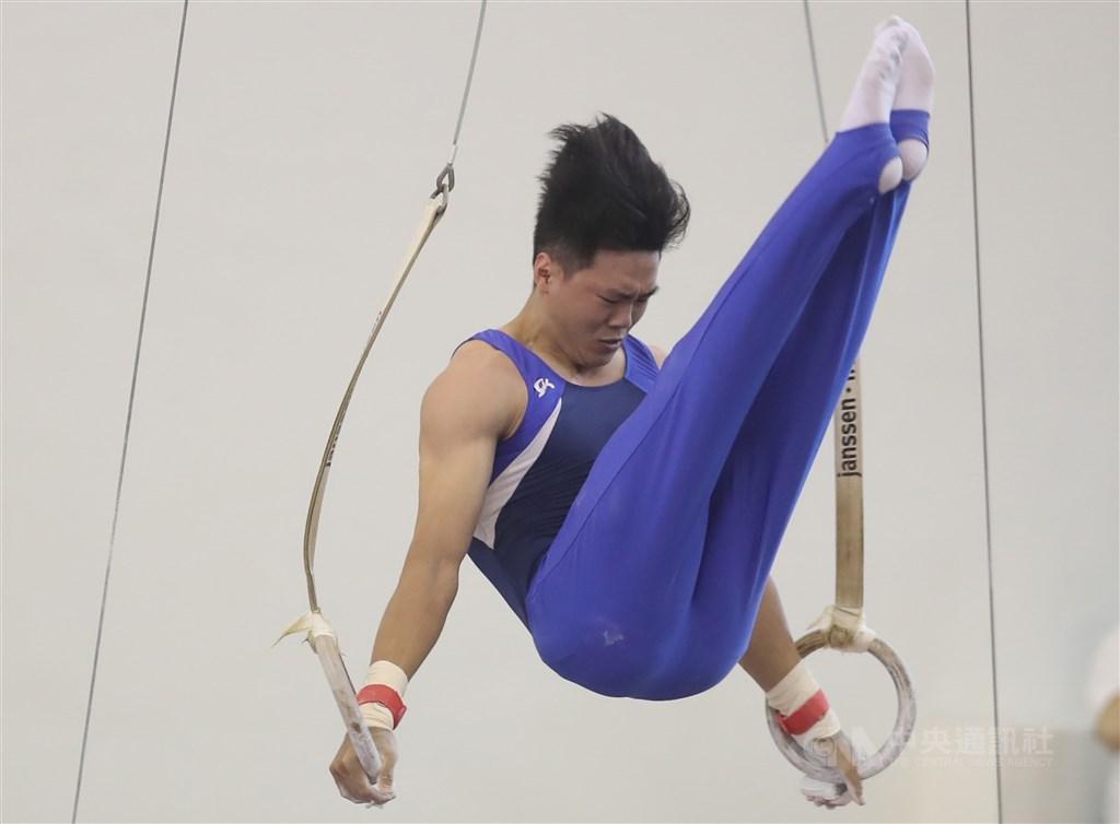 台灣體操好手唐嘉鴻,15日在體操世界挑戰盃單槓決賽,以總分14.550拿下銅牌。(中央社檔案照片)