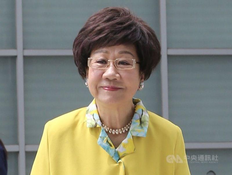 前副總統呂秀蓮決定接受喜樂島聯盟及其他政黨的推薦,17日向中央選舉委員會登記申請為獨立總統參選人。(中央社檔案照片)