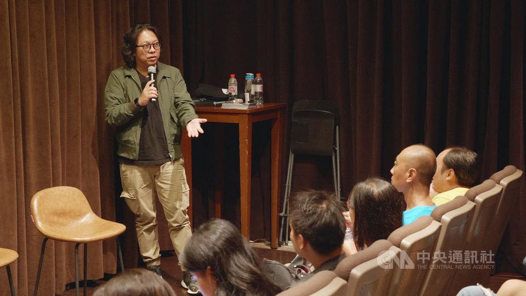 「金穗獎:新加坡放映會」分別播映5部新加坡新銳影像工作者導演短片,「新戲院」創辦人朱韋仲(圖)則是其中的靈魂人物。(新戲院提供)中央社記者黃自強新加坡傳真  108年9月17日