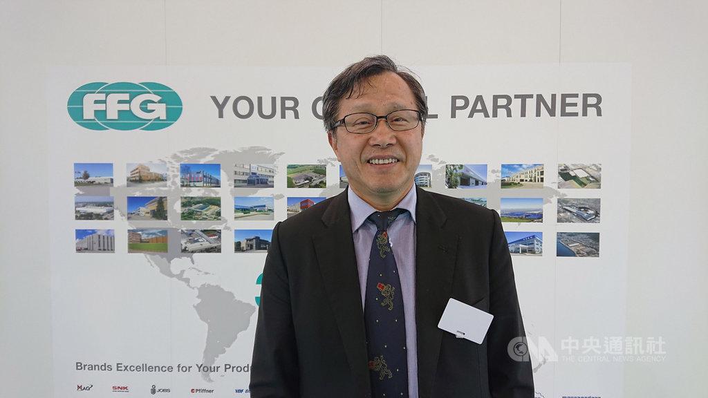 駐德代表謝志偉認為,經貿、民主人權如同2大支柱,撐起台灣的國際形象與地位。中央社記者潘姿羽攝  108年9月17日