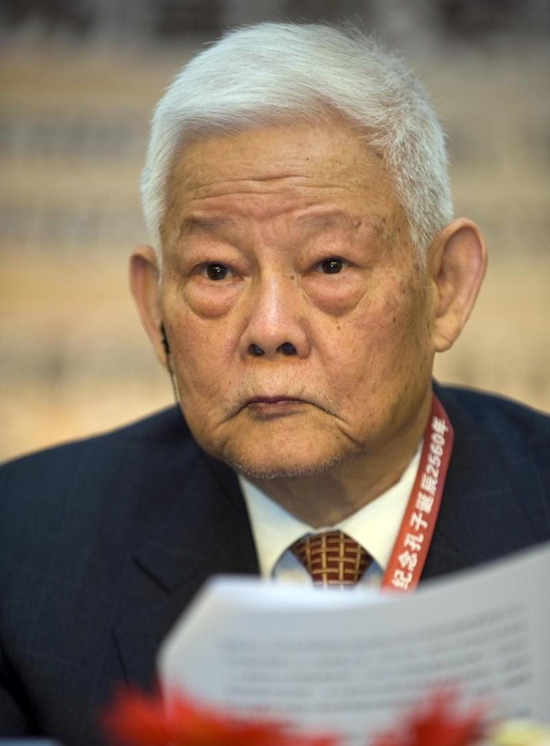 已故中共元帥葉劍英的長子、曾任中國全國政協副主席及廣東省長的葉選平,17日在廣州病逝,享年95歲。(中新社提供)
