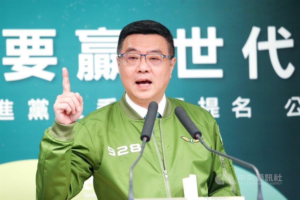 民進黨主席卓榮泰18日提到,9月28日是民進黨黨慶,剛好距離選舉整整15週,他要求中央黨部訂定百日作戰大計畫,每一週要有既定進步,每一天要有必定達到的目標。中央社記者王騰毅攝 108年9月18日