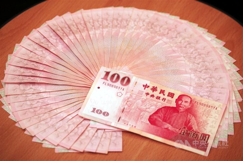 外資持續匯入,新台幣兌美元20日升破31元大關,收盤收30.98元,創逾4個月新高。(中央社檔案照片)