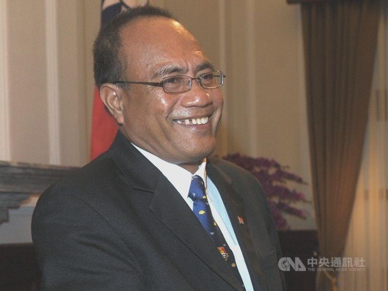涉外人士指出,吉里巴斯總統馬茂2016年上台後,政府就開始關注;吉國要求台灣提供3600萬美元作為購買民航機贈款遭拒,是斷交關鍵。(中央社檔案照片)