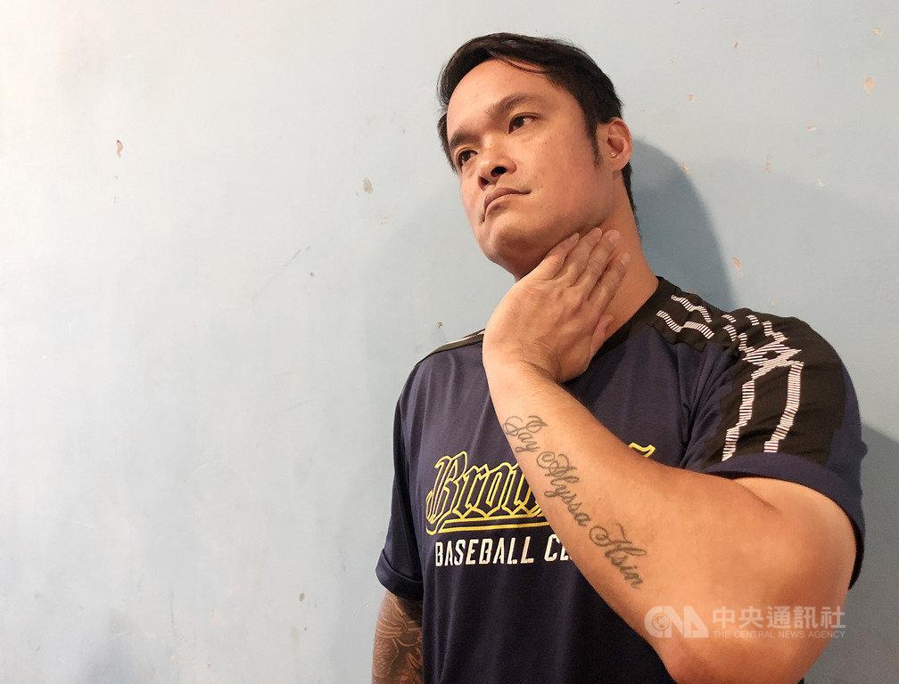 面對老東家Lamigo桃猿隊即將走入歷史,中職中信兄弟隊球星林智勝21日坦言覺得可惜,「這些年來,球迷是被感動到開始進場看球的,在桃園幾乎沒有人不知道桃猿隊」,但台灣經濟不景氣,他們能撐這麼久已經很不容易了。中央社記者謝靜雯攝 108年9月21日