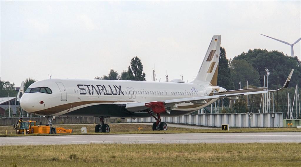 星宇航空預計明年1月開航,空中無線電通訊呼號取名Starwalker,靈感是來自電影星際大戰的主角天行者。圖為星宇航空首架A321neo。(圖取自星宇航空臉書facebook.com/starluxairlines)