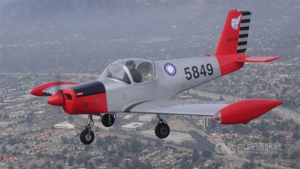 介壽號教練機截至民國63年共生產58架,作為空軍官校學生初級飛行教練機,服役至71年除役。(中央社檔案照片)