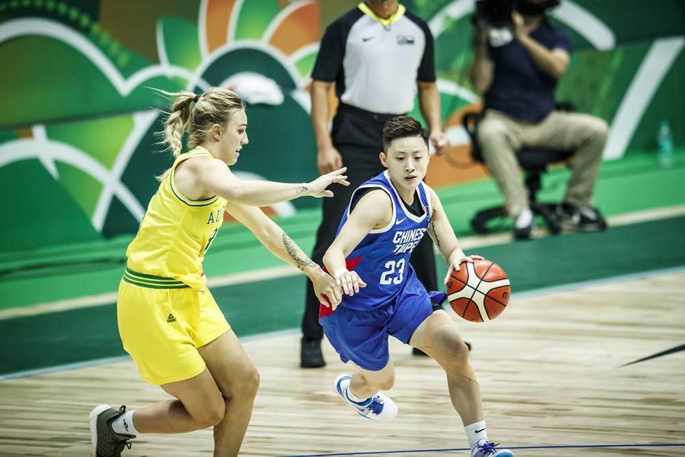 中華女籃27日在亞洲盃附加賽迎戰強敵澳洲隊,最終以51比90吞敗,無緣4強。(圖取自FIBA官網fiba.basketball)