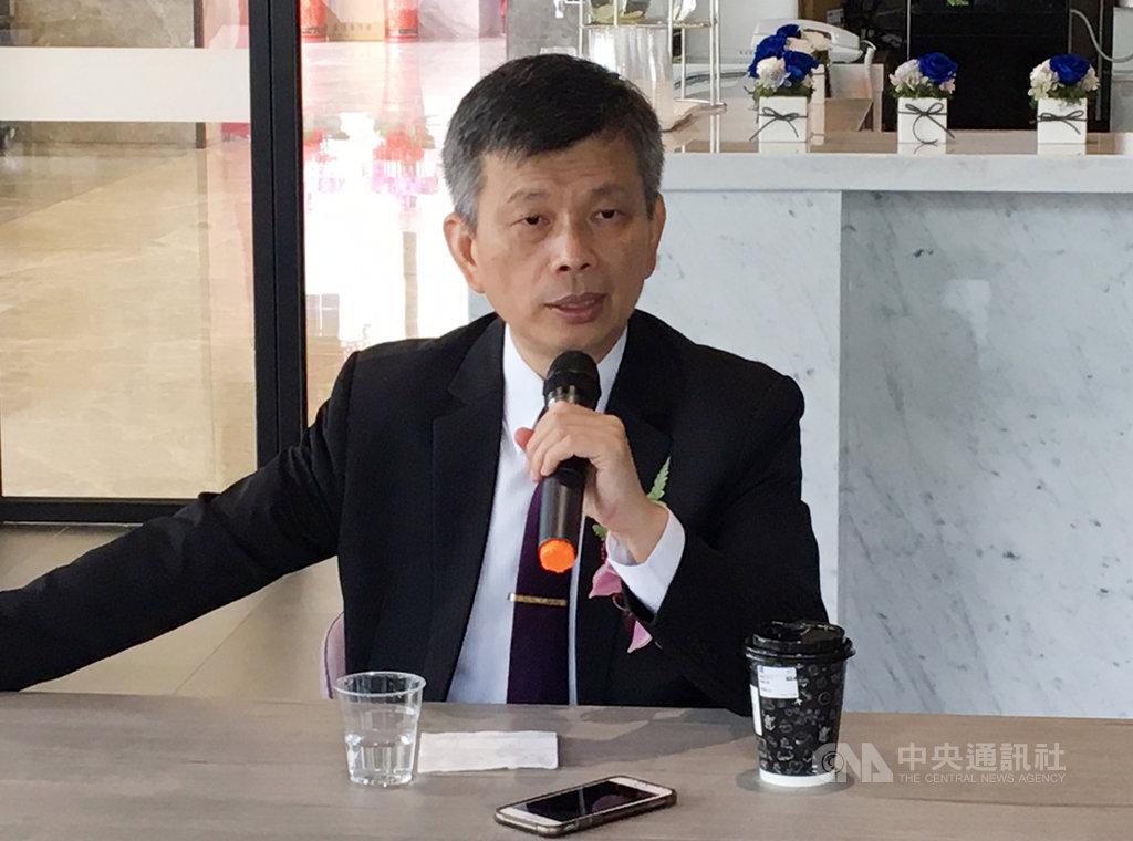 中華精測總經理黃水可表示,精測布局智慧製造和探針卡產品,新營運研發總部估再增加1千名員工需求。中央社記者鍾榮峰攝  108年10月4日