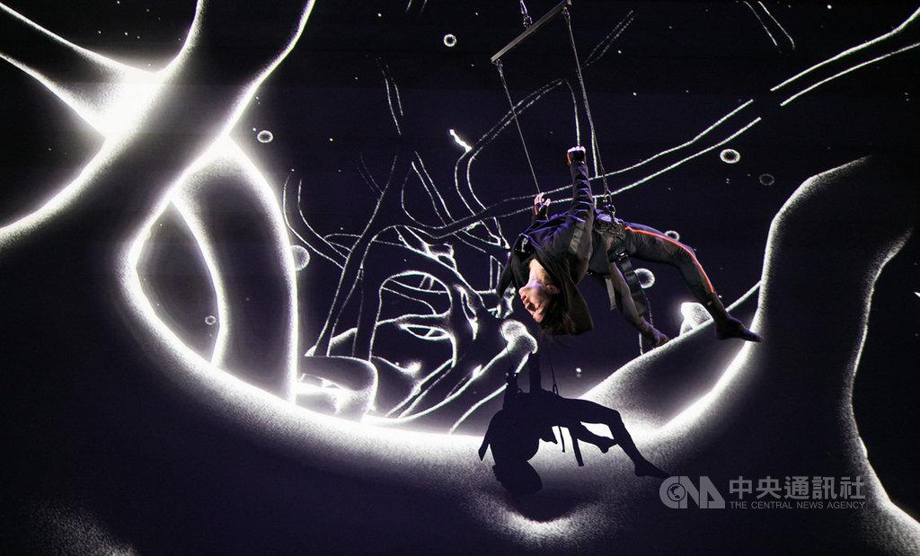 白鷺鷥文教基金會受畫廊協會之邀,參加2019台北國際藝術博覽會,將在展區內舉辦「印象台灣」展,其中展出含括VR、AR、MR的XR延展實境作品「迷」。(白鷺鷥文教基金會提供)中央社記者鄭景雯傳真  108年10月9日
