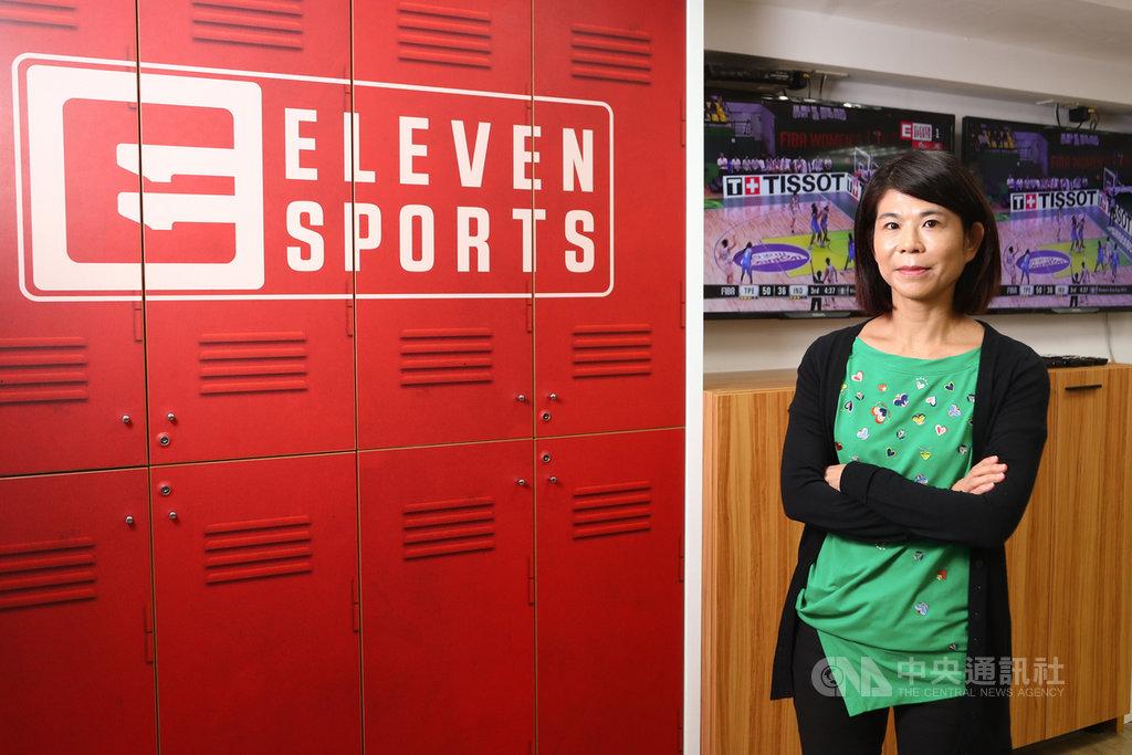 Eleven Sports進入台灣市場3年,已逐漸成為台灣知名運動轉播頻道,對於未來走向,台灣區總經理康小玲接受中央社專訪時表示,有線電視各方勢力盤根錯節,但Eleven Sports還不會退出台灣市場,考慮轉往MOD發展。中央社記者王騰毅攝 108年10月11日