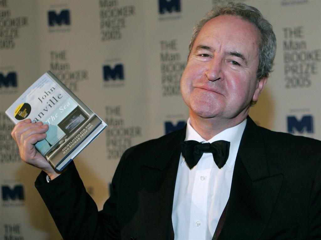 諾貝爾文學獎10日揭曉,愛爾蘭作家班維爾當天接到一通報喜電話,事後證實是惡作劇。(圖取自facebook.com/JohnBanvilleAuthor)