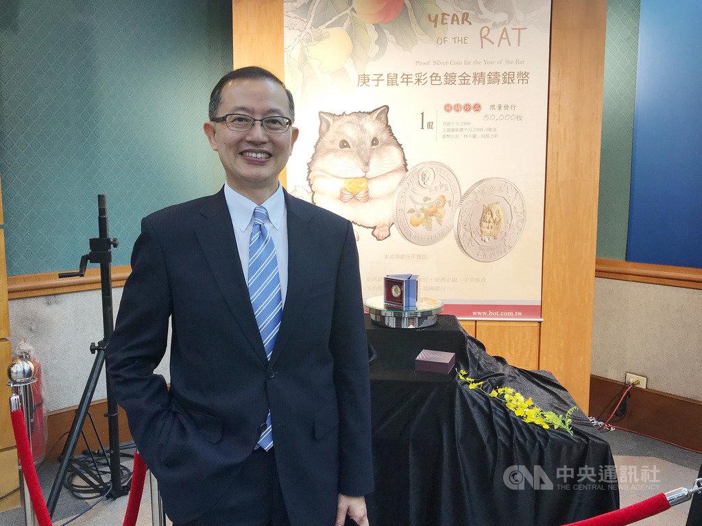 台灣銀行貴金屬部副理楊天立認為,美中談判樂觀對金價影響有限,明年第1季有機會挑戰每英兩1600美元。中央社記者劉姵呈攝 108年10月15日