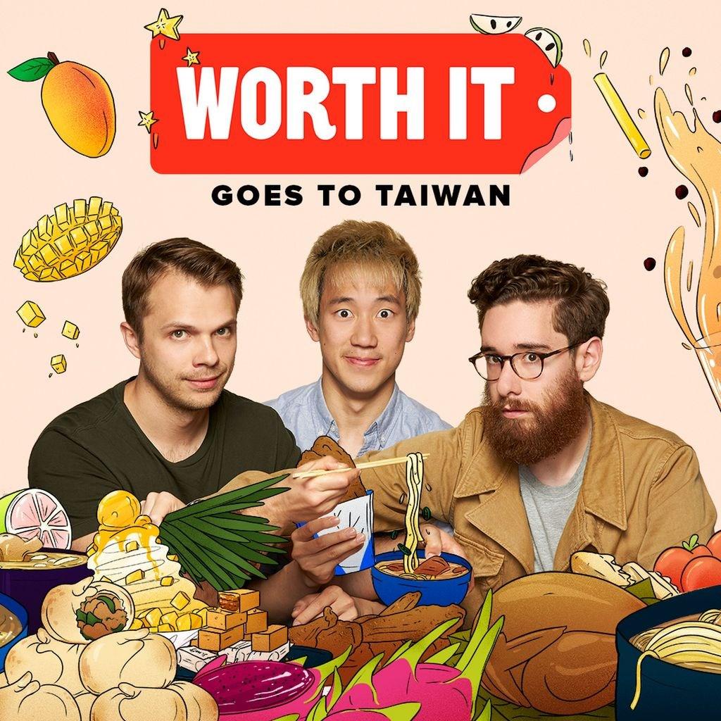 美國網路媒體BuzzFeed旗下的美食節目Worth It前進台灣,推出3集台灣美食特輯,台大公館商圈的平民水煎包大受好評。(BuzzFeed提供)中央社記者林宏翰洛杉磯傳真 108年10月16日