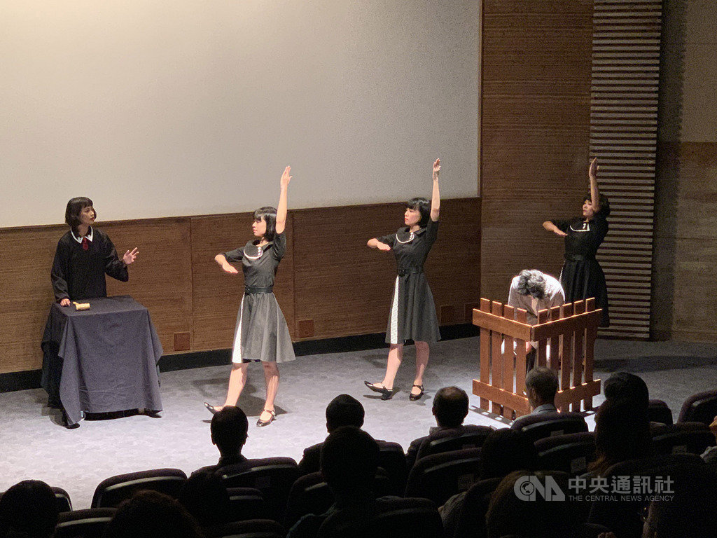 「2019台灣文化日」16日在國立台灣歷史博物館揭幕,讓當代社會議題和歷史對話。中央社記者張榮祥台南攝 108年10月16日