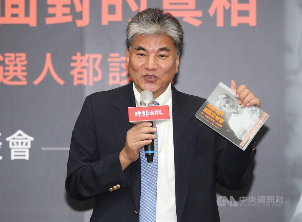 外傳國民黨總統參選人韓國瑜的副手是前內政部長李鴻源(圖),李鴻源17日表示,沒有人跟他聯絡過,都是名嘴爆料,不值得回應。(中央社檔案照片)