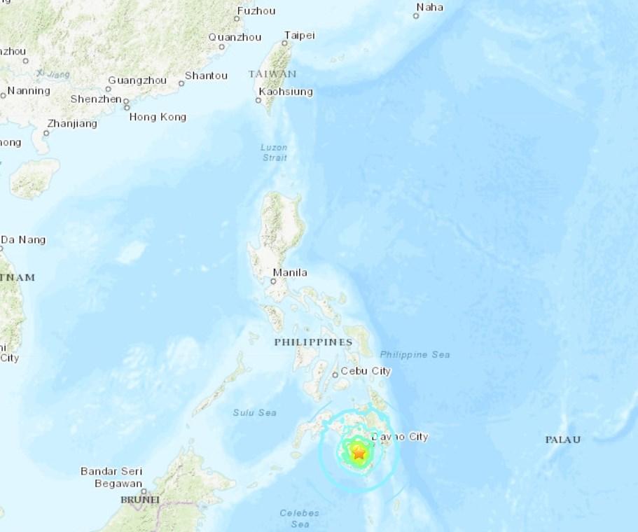 (圖取自美國地質研究所網頁earthquake.usgs.gov)